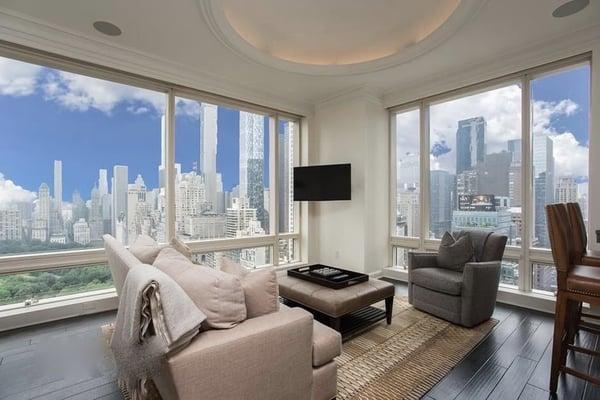 Manhattan vastgoedprijzen voor 1 Central Park West