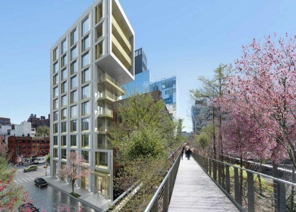 Hudson Yard Luxe Appartementen 500 West 25 Street High Line