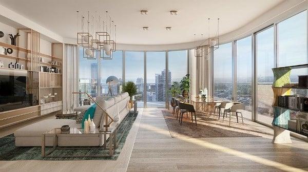 Flatiron Penthouse Miami appartementen te koop Brickell