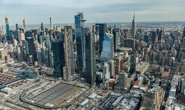 Commerciële kantoren Hudson Yards