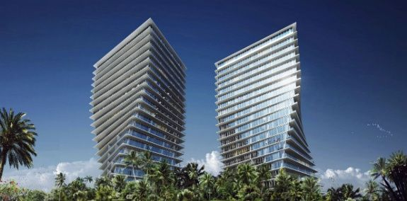 Luxe gebouwen in Miami