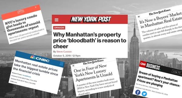 Manhattan Condo Prijzen Marktvertraging