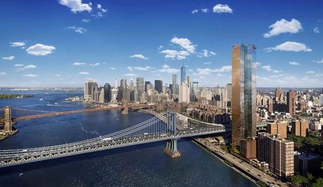 20 jaar belastingvermindering One Manhattan Square