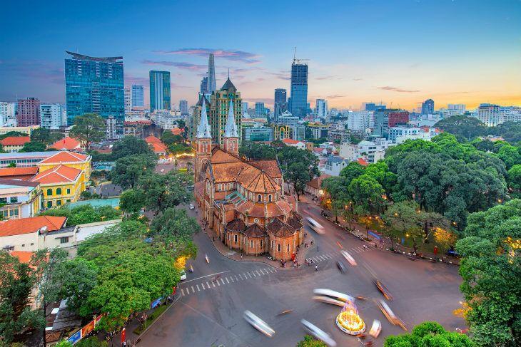 Saigon Ho Chi Minh Stad