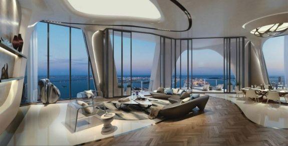Zaha Hadid Luxe gebouwen in Miami